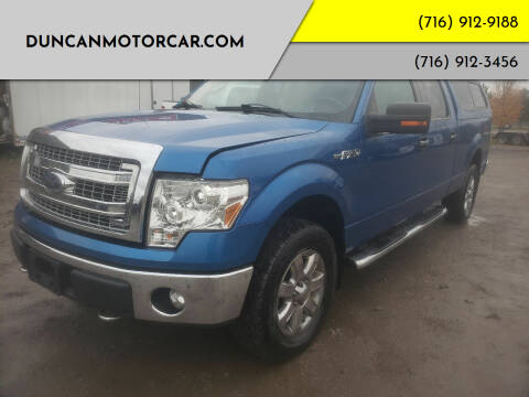 2013 Ford F-150 for sale at DuncanMotorcar.com in Buffalo NY