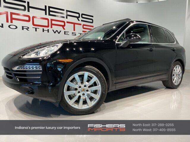 2014 Porsche Cayenne for sale at Fishers Imports in Fishers IN