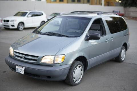 2000 Toyota Sienna for sale at Sports Plus Motor Group LLC in Sunnyvale CA