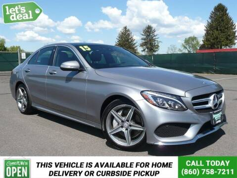 2015 Mercedes-Benz C-Class for sale at Shamrock Motors in East Windsor CT