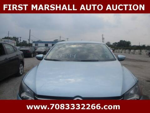2012 Volkswagen Passat for sale at First Marshall Auto Auction in Harvey IL