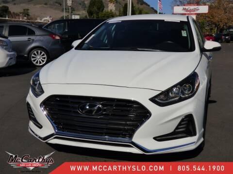 2018 Hyundai Sonata for sale at McCarthy Wholesale in San Luis Obispo CA