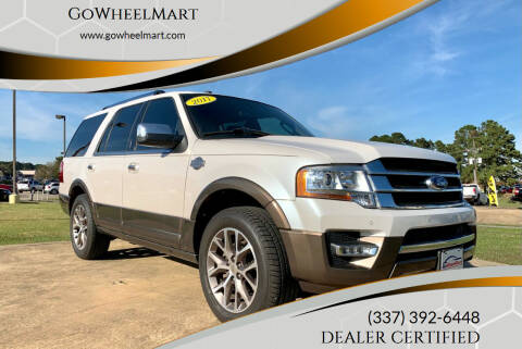 2017 Ford Expedition for sale at GoWheelMart in Leesville LA