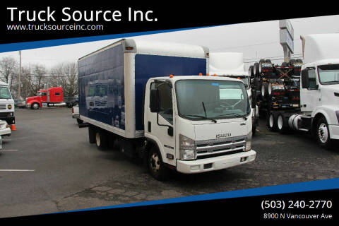 2012 Isuzu NPR HD for sale at Truck Source Inc. in Portland OR