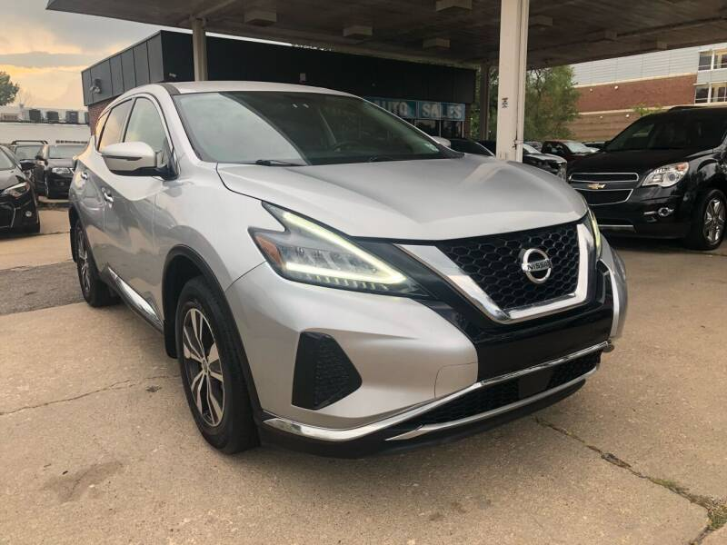 2019 Nissan Murano for sale at Divine Auto Sales LLC in Omaha NE