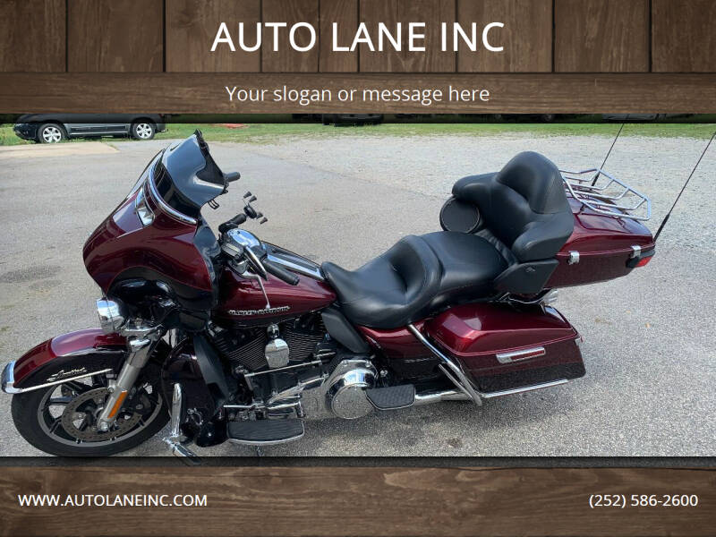 2014 Harley Davidson Ultra Classic for sale at AUTO LANE INC in Henrico NC