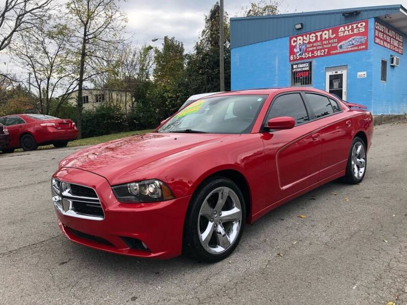 2011 Dodge Charger for sale at Crystal Auto Sales Inc in Nashville TN