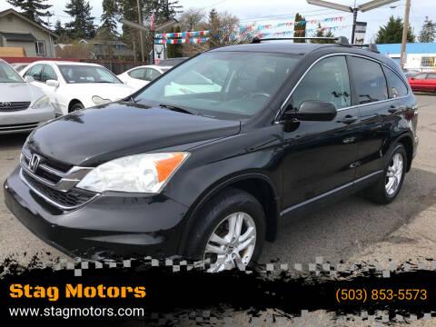 2010 Honda CR-V for sale at Stag Motors in Portland OR