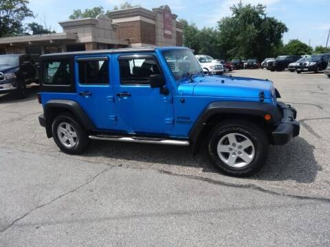 2015 Jeep Wrangler Unlimited for sale at Joe's Preowned Autos 2 in Wellsburg WV