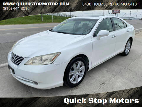 2008 Lexus ES 350 for sale at Quick Stop Motors in Kansas City MO