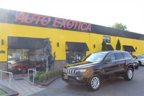 2021 Jeep Grand Cherokee for sale at Auto Exotica in Red Bank NJ