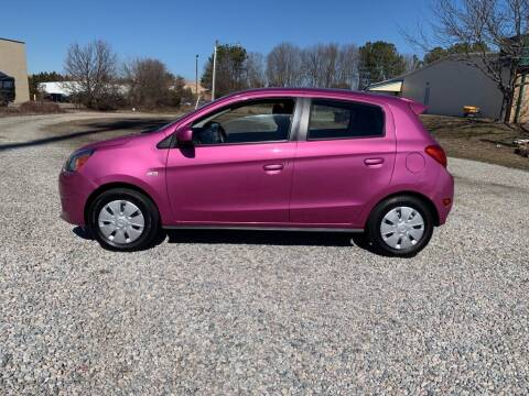 2015 Mitsubishi Mirage for sale at MEEK MOTORS in North Chesterfield VA