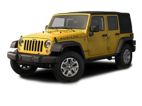 2015 Jeep Wrangler Unlimited for sale at SULLIVAN MOTOR COMPANY INC. in Mesa AZ