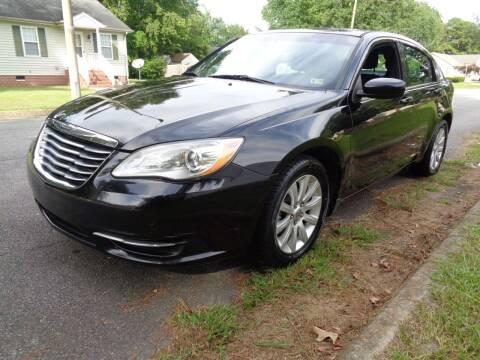 2013 Chrysler 200 for sale at Liberty Motors in Chesapeake VA