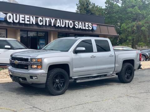 2014 Chevrolet Silverado 1500 for sale at Queen City Auto Sales in Charlotte NC