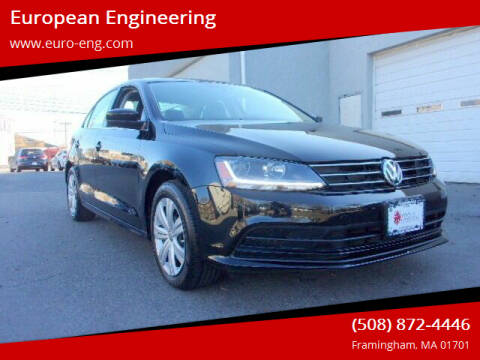 2017 Volkswagen Jetta for sale at European Engineering in Framingham MA