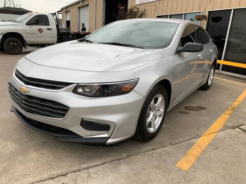 2018 Chevrolet Malibu for sale at Market Street Auto Sales INC in Houston TX