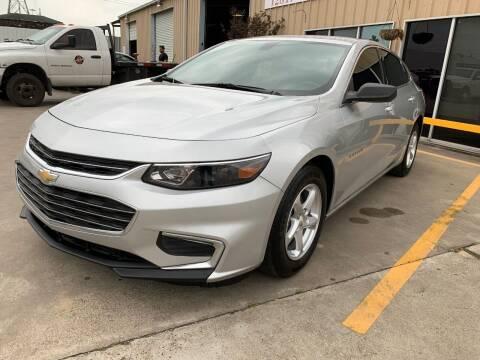 2018 Chevrolet Malibu for sale at Market Street Auto Sales INC in Houston TX