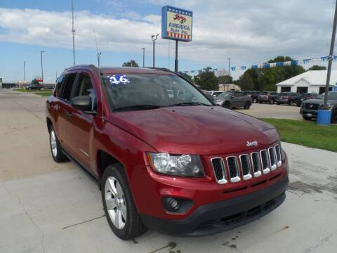 2016 Jeep Compass for sale at America Auto Inc in South Sioux City NE