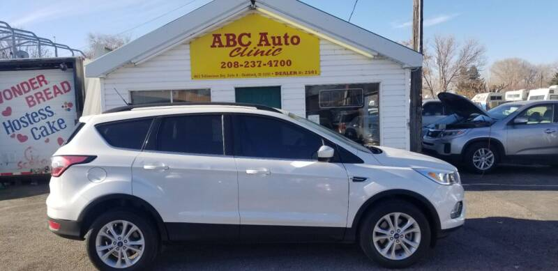 2018 Ford Escape for sale at ABC AUTO CLINIC - Chubbuck in Chubbuck ID