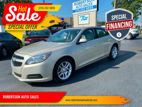 2013 Chevrolet Malibu for sale at ROBERTSON AUTO SALES in Bowling Green KY