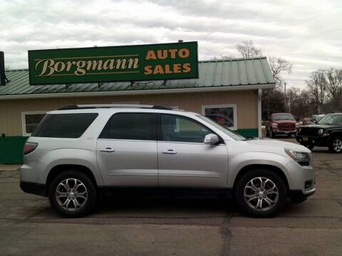2014 GMC Acadia for sale at Borgmann Auto Sales in Norfolk NE