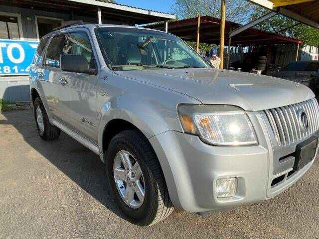 2008 Mercury Mariner Hybrid for sale at AUTO VALUE FINANCE INC in Stafford TX