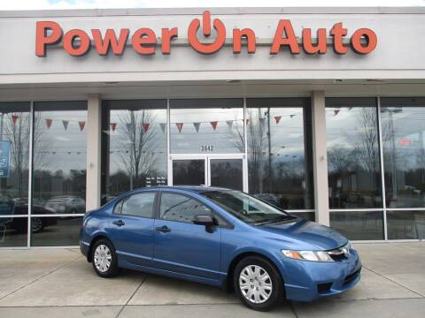 2011 Honda Civic for sale at Power On Auto LLC in Monroe NC