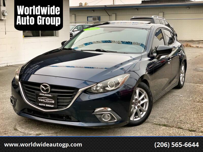 2014 Mazda MAZDA3 for sale at Worldwide Auto Group in Auburn WA