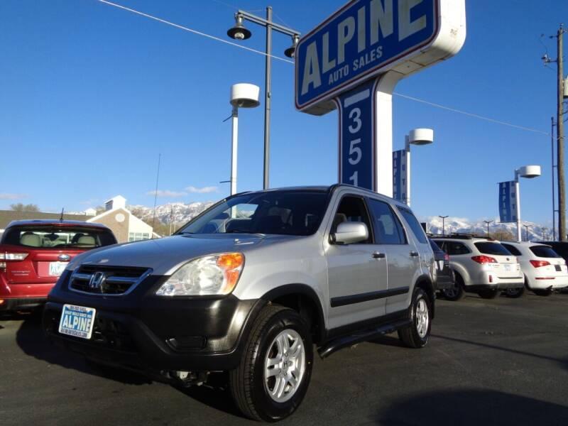 2003 Honda CR-V for sale at Alpine Auto Sales in Salt Lake City UT
