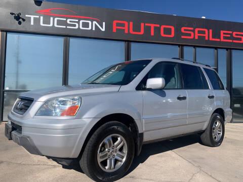 2004 Honda Pilot for sale at Tucson Auto Sales in Tucson AZ