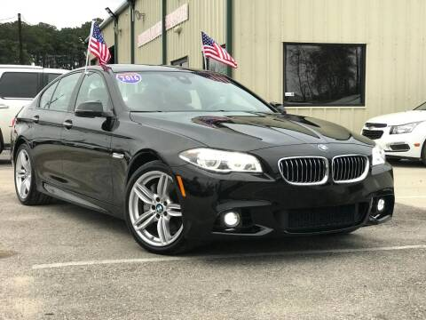 2016 BMW 5 Series for sale at Premium Auto Group in Humble TX