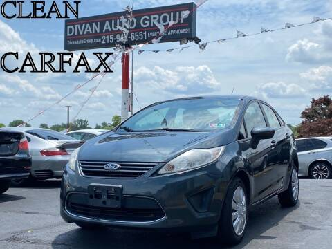 2011 Ford Fiesta for sale at Divan Auto Group in Feasterville PA