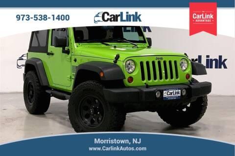 2012 Jeep Wrangler for sale at CarLink in Morristown NJ