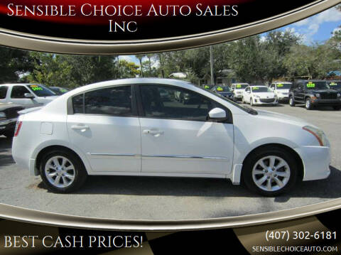 2011 Nissan Sentra for sale at Sensible Choice Auto Sales, Inc. in Longwood FL