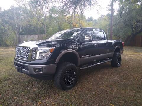 2017 Nissan Titan for sale at 57 Auto Sales in San Antonio TX