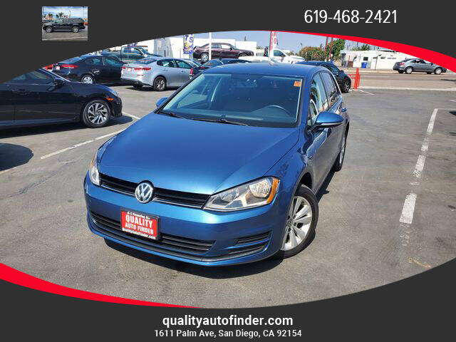 2015 Volkswagen Golf for sale at QUALITY AUTO FINDER in San Diego CA