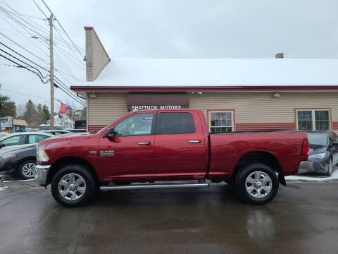 2014 RAM Ram Pickup 2500 for sale at Shattuck Motors in Newport VT
