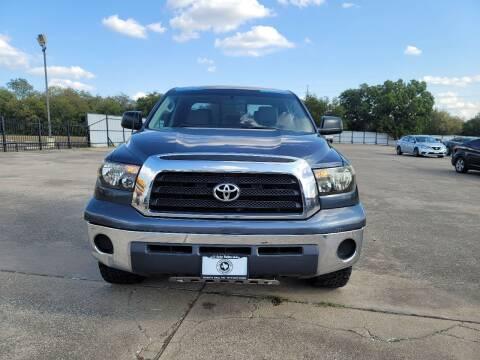 2007 Toyota Tundra for sale at JJ Auto Sales LLC in Haltom City TX
