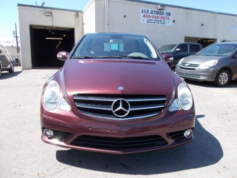 2009 Mercedes-Benz R-Class for sale at ACH AutoHaus in Dallas TX
