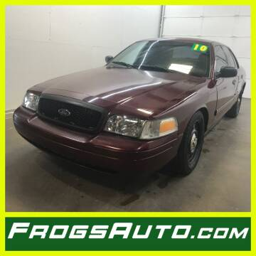 2010 Ford Crown Victoria for sale at Frogs Auto Sales in Clinton IA