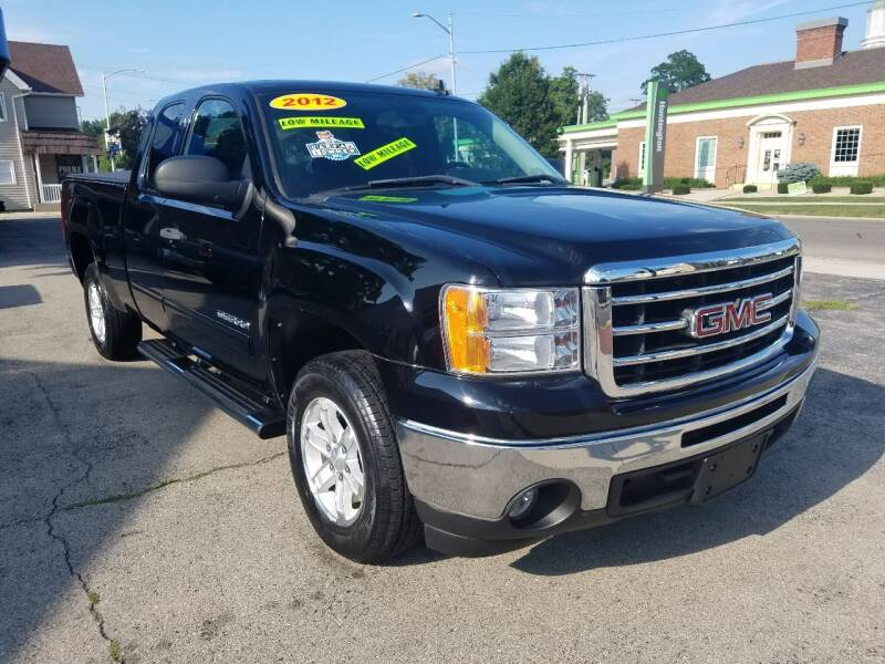 2012 GMC Sierra 1500 for sale at BELLEFONTAINE MOTOR SALES in Bellefontaine OH