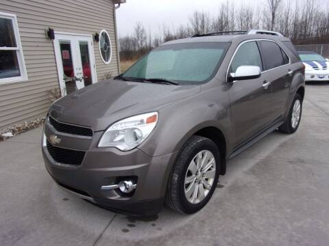 2011 Chevrolet Equinox for sale at The Auto Depot in Mount Morris MI