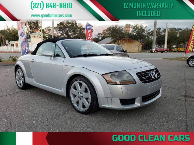 2006 Audi TT for sale at Good Clean Cars in Melbourne FL