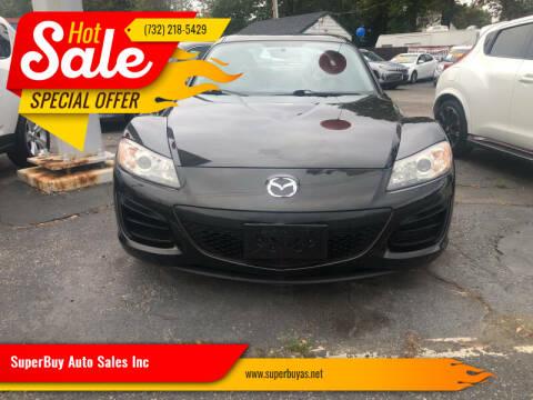 2010 Mazda RX-8 for sale at SuperBuy Auto Sales Inc in Avenel NJ