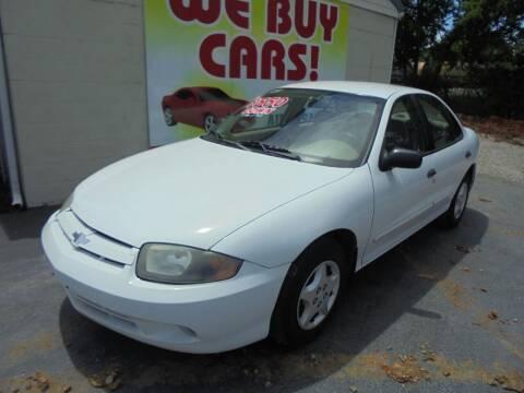 2004 Chevrolet Cavalier for sale at Right Price Auto Sales in Murfreesboro TN