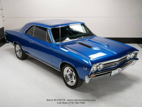 1967 Chevrolet Chevelle for sale at Sierra Classics & Imports in Reno NV