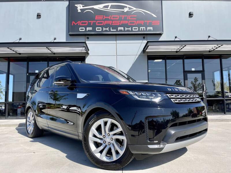 2018 Land Rover Discovery for sale at Exotic Motorsports of Oklahoma in Edmond OK