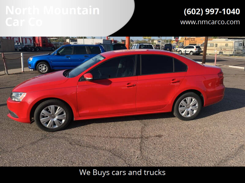 2012 Volkswagen Jetta for sale at North Mountain Car Co in Phoenix AZ