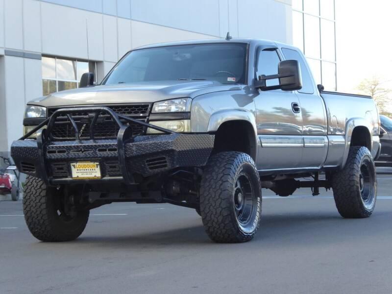 2006 Chevrolet Silverado 1500 for sale at Loudoun Used Cars - LOUDOUN MOTOR CARS in Chantilly VA